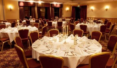 The Oxford Belfry College Suite Dinner